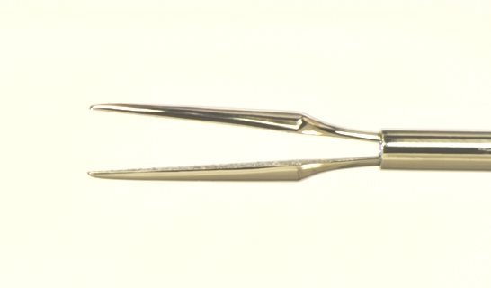 23g Straight Gripping Forceps with TC Coated tips