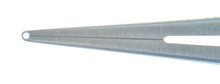 Curved Notched Forceps - 0.3mm Notch